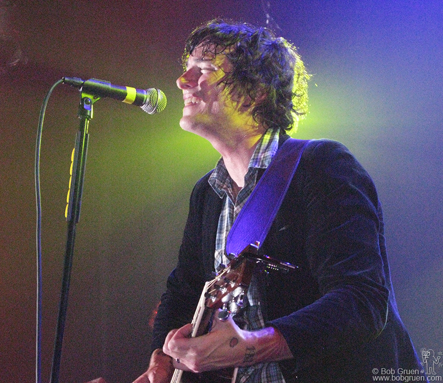Nov 13 - NYC - Butch Walker played at the Blender theater and the crowd loved him and his band.