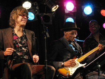 Nov. 26 - Hubert Sumlin celebrated his 79th birthday at BB Kings Club with an all-star band that included David Johansen.