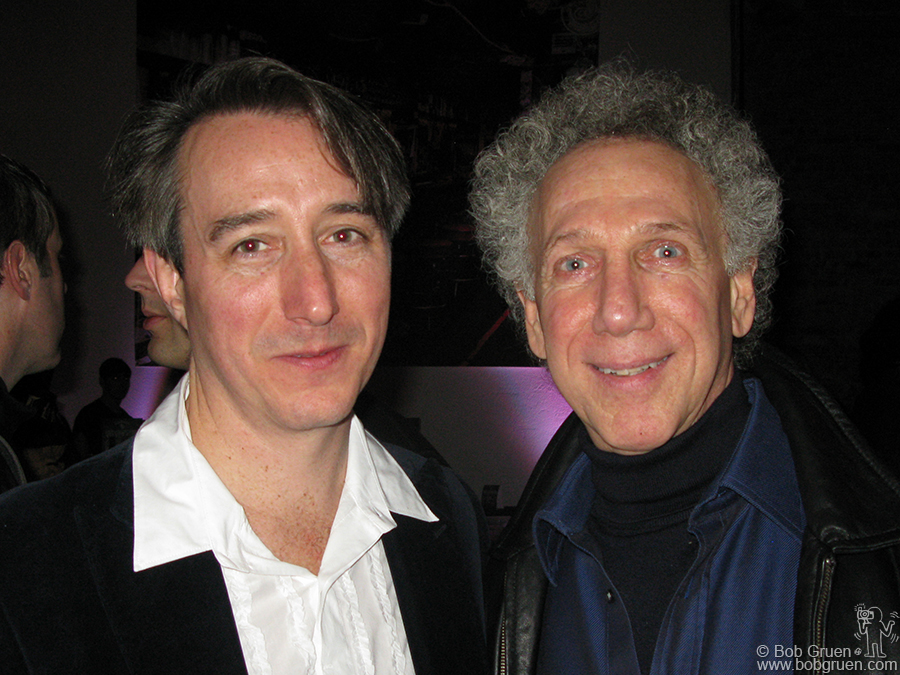 Dec 2 - NYC - At the opening of the New York Annex of the Rock and Roll Hall of Fame I congratulated Craig Inciardi for organizing the exhibits, which include many of my photos.