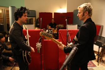 March 30 - Green Day recording at Stratosphere Studio.