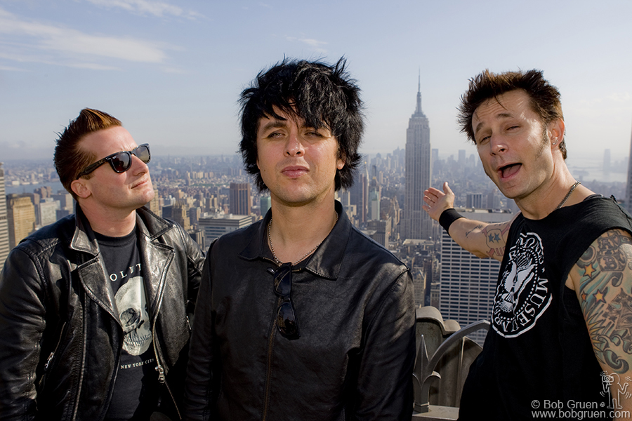 Green Day at Top of The Rock.