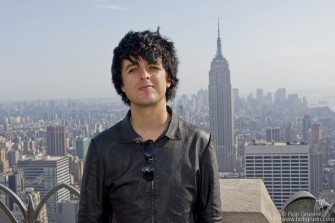 May 16 - Billie Joe Armstrong at Top of The Rock.