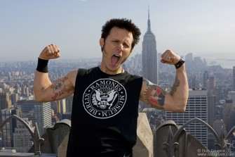 May 16 - Mike Dirnt at Top of The Rock.