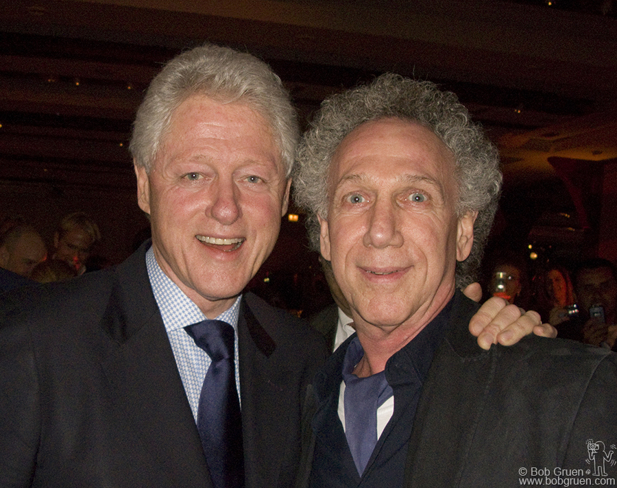 Danny Clinch took a photo of me with Bill Clinton!