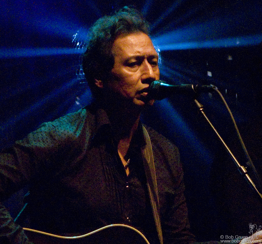 July 9 - NYC - Alejandro Escovedo played with his powerful band at the Highline Ballroom.