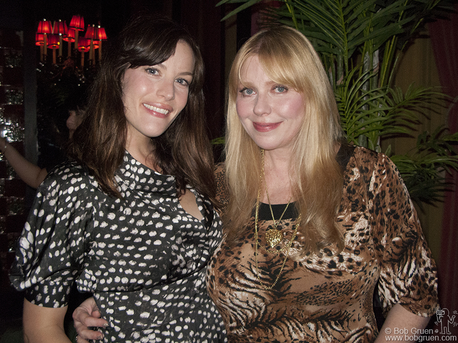 July 1 - NYC - Liv Tyler celebrated her birthday with her mom Bebe Buell at The Jane hotel's new ballroom lounge.