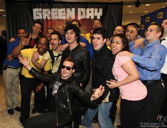 Green Day & Fans, NYC - 2009