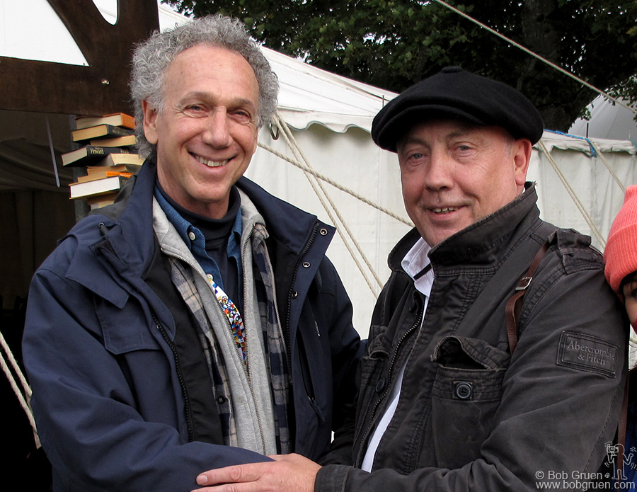 Sept 5 - Stradbally, Ireland - I met Dublin born photographer John Minihan at the Electric Picnic Festival in Ireland. He spoke about his photos of Samuel Beckett and Francis Bacon.