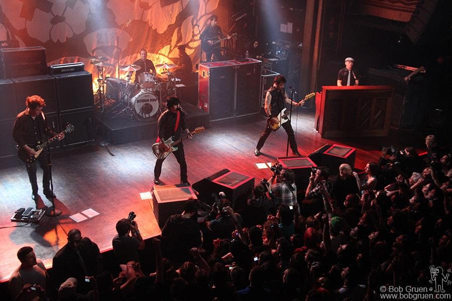 May 19 - NYC - Green Day at Webster Hall.