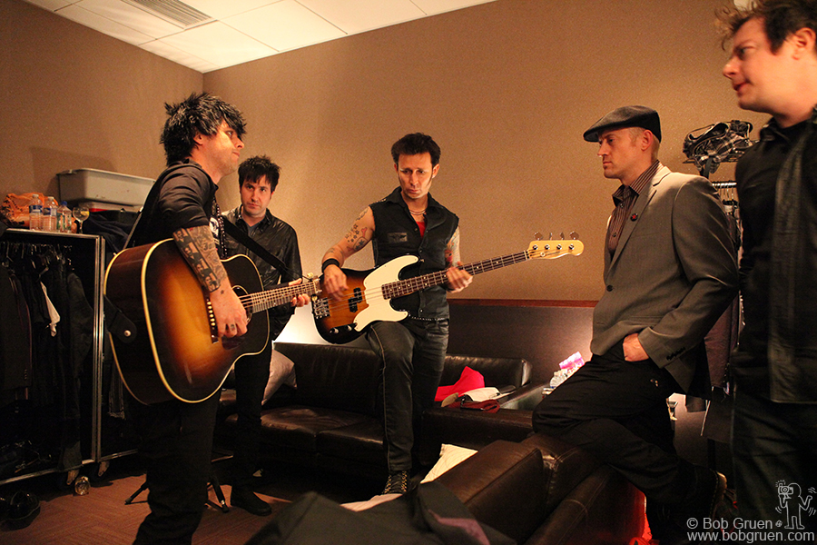 May 20 - NYC - Backstage at PC Richards Theater.