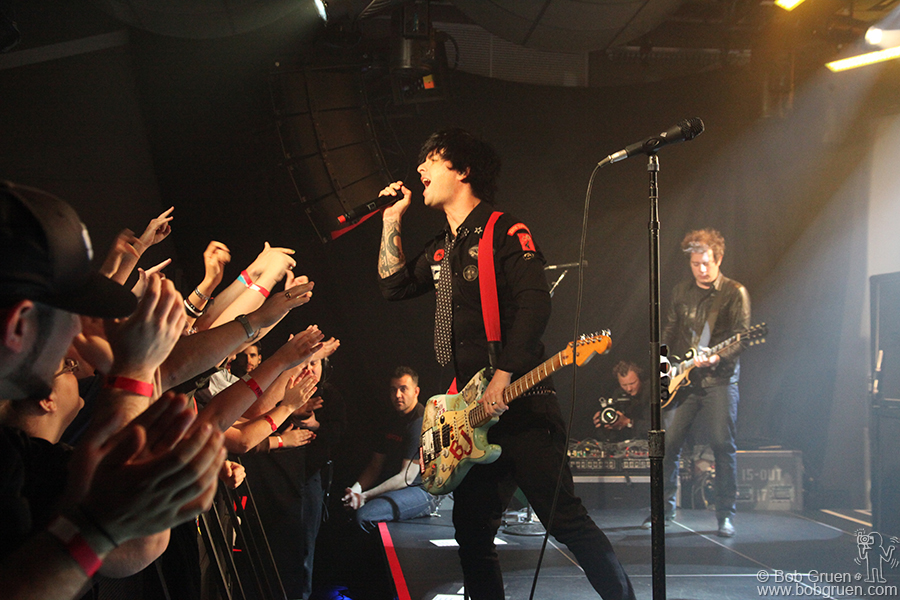 Green Day at PC Richards Theater.