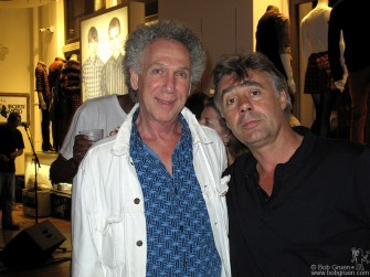I get in a photo with Glen Matlock at the Love and Rockets tribute show at the Ben Sherman store.