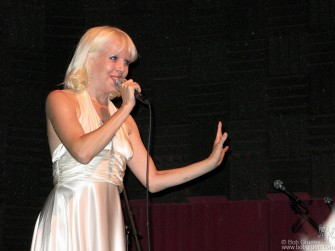 August 25 - Tammy Faye Starlite performs at Joe's Pub in a benefit for the Living Theater.