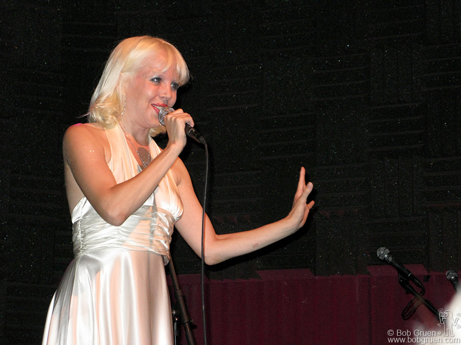Aug 25 - NYC - Tammy Faye Starlite performs at Joe's Pub in a benefit for the Living Theater.