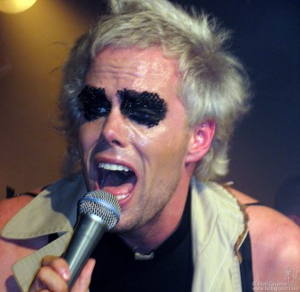 September 8 - Semi-Precious Weapons Justin Tranter got right in the face of the sold out crowd at the club Rebel.