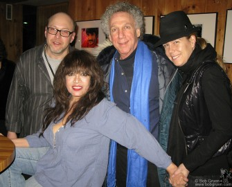 After the show Ronnie's husband Jonathan joined me and my Valentine, Elizabeth, for a photo with Ronnie.