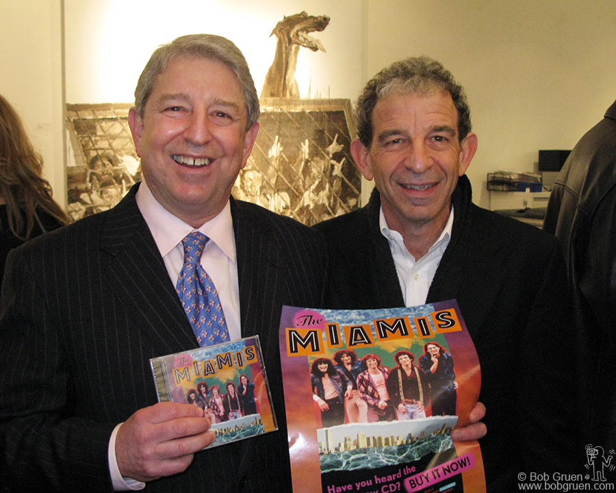 April 16 - NYC - Tommy and Jimmy Wynbrandt have finally gotten the Miamis' wonderful music on a CD. 35 years in the making, it's finally available! The Miamis were a favorite band on the NY scene in the '70's.