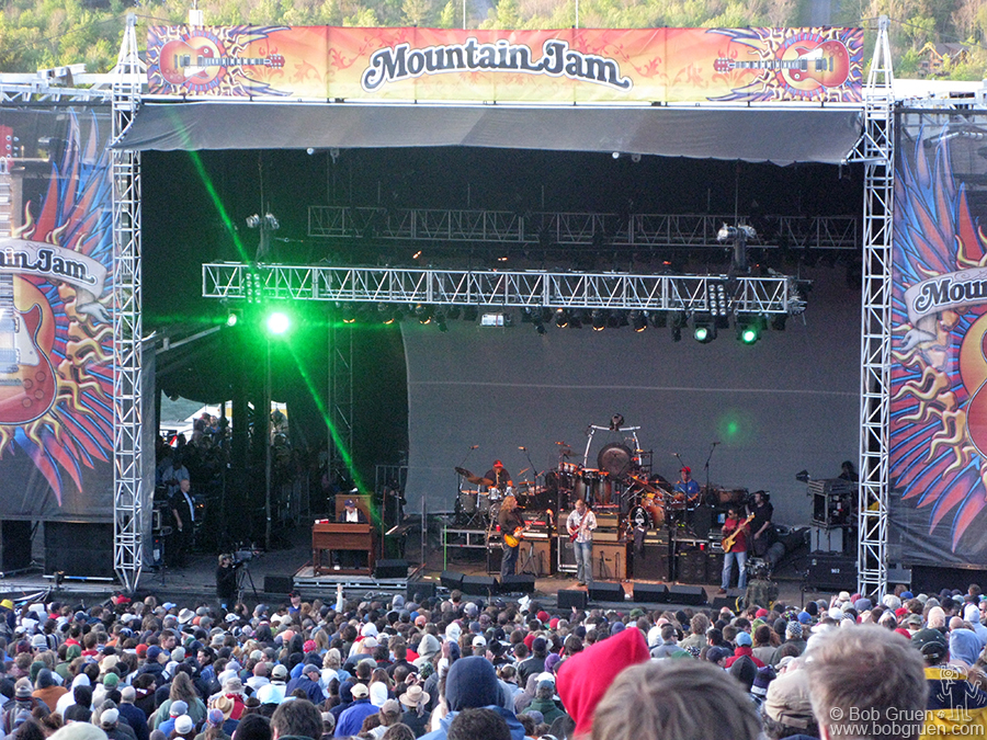 June 6 - Hunter Mountain, NY - Hunter Mountain was host to the Allman Brothers during the Mountain Jam Festival, a great three day annual event.