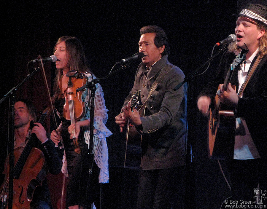 June 18 - NYC - Alejandro Escovedo performs with his band at City Winery, the cool new venue in the lower West Village.