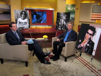 July 21 - Bob Gruen talked about his upcoming exhibits and books on GoodMorningAmerica.com.