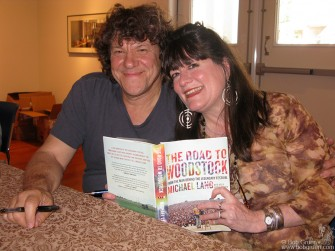 July 5 - Michael Lang and Holly George-Warren signed copies of their new book about Michael's adventures organizing the great Woodstock Festival in 1969.
