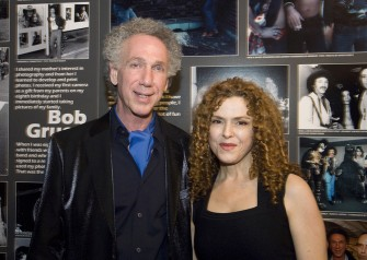 Bernadette Peters was at the opening. Photo by Linda Rowe.