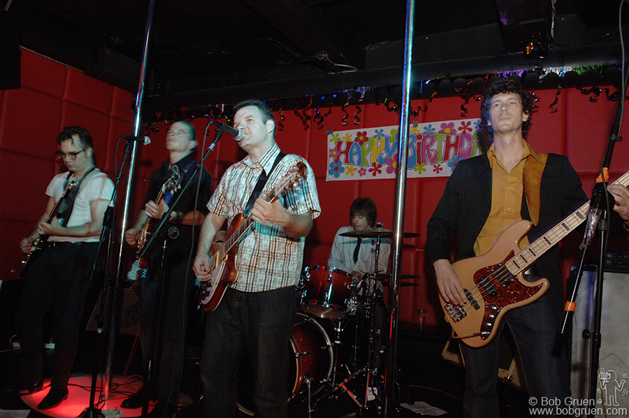 """Johnny Chan and the New Dynasty Six set the tone of the party when they played their hit song """"All About Me"""""""