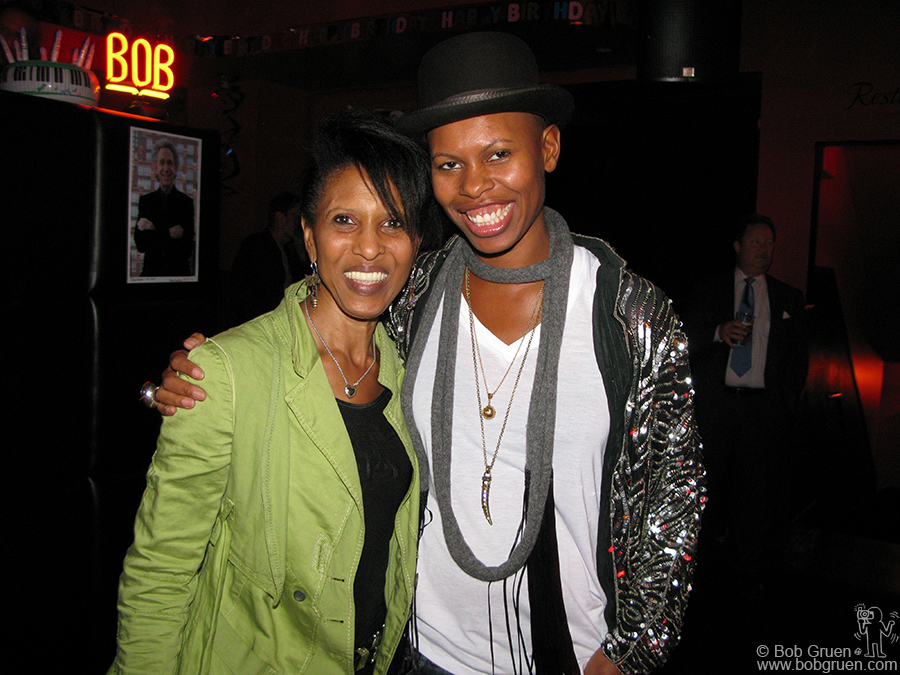 Nona Hendryx and Skin seem to have enjoyed the party. I know I did.