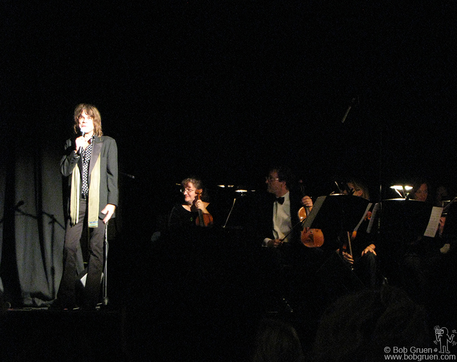 Oct 27 - Staten Island, NY - Staten Island Composers Project featuring David Johansen, Vernon Reid and Galt MacDermot. Above David Johansen introduces the classical piece he wrote for the occasion.
