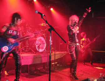 Nov 11 - Later that night I was at Don Hill's to see the Motley Crue tribute band Girls Girls Girls