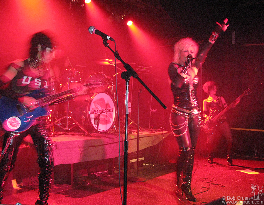 Later that night I was at Don Hill's to see the Motley Crue tribute band Girls Girls Girls