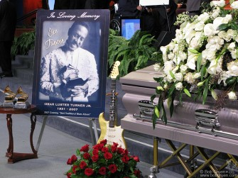 Dec 21 -  Ike Turner, who passed away on Dec 13th, was a very big help to me when I started my career. At his funeral in Los Angeles he was remembered as a founding father of Rock and Roll.