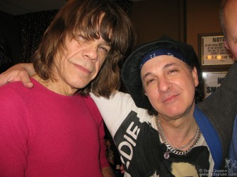 Dec. 28, 29 - Back in my home town for the New Year weekend, I went to the Fillmore at Irving Plaza to see the New York Dolls. David and Syl told me the show was recorded to be released as a live album.