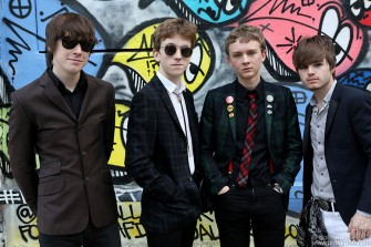 August 23 - NYC - I had another chance to photograph the fantastic young band the Strypes outside the Music Hall of Williamsburg.