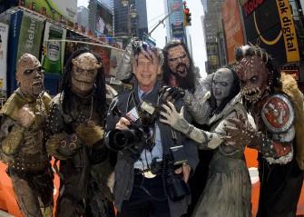 Bob Gruen & Lordi, NYC - 2007