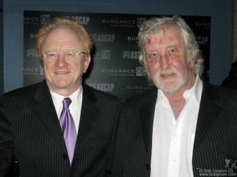 Jan 22 - English superstars of the '60's, Peter and Gordon had a reunion at the Sundance Film fest.