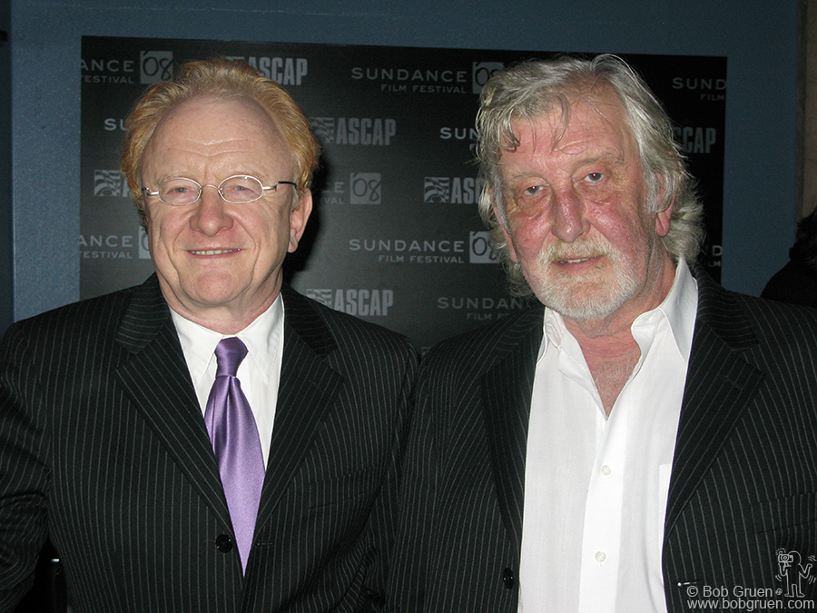 Jan 22 - Park City, UT - English superstars of the '60's, Peter and Gordon had a reunion at the Sundance Film fest.