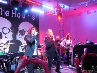 "After the auction, The Hours played for the party and were joined by Bono who led the crowd in singing ""All You Need Is Love"" a great choice for the Valentines Day event."