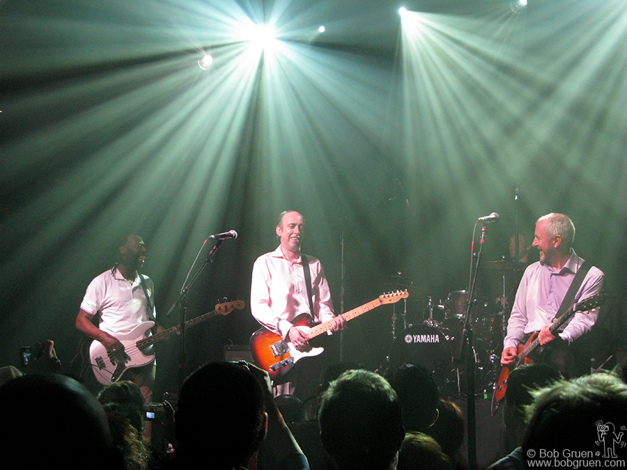 April 4 - NYC - Mick Jones and Tony James brought their band Carbon Silicon to the Fillmore East at Irving Plaza.