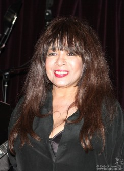 Ronnie Spector was a real rock highlight at the John Varvatos store opening party.