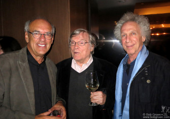 May 29 - NYC - I talked with Shep Gordon and D.A. Pennebaker during the afterparty for Shep's film 'Supermensch'.
