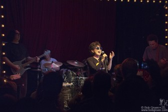June 17 - NYC - Yoko Ono, working with Pere Ubu warmed up for her big Glastonbury appearance with an intimate show at Union Pool in Brooklyn.