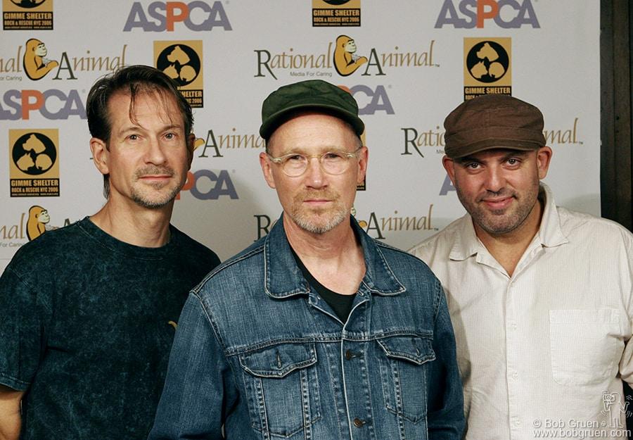 Oct 4 - NYC - Marshall Crenshaw band came to play and to help save the abandoned animals.