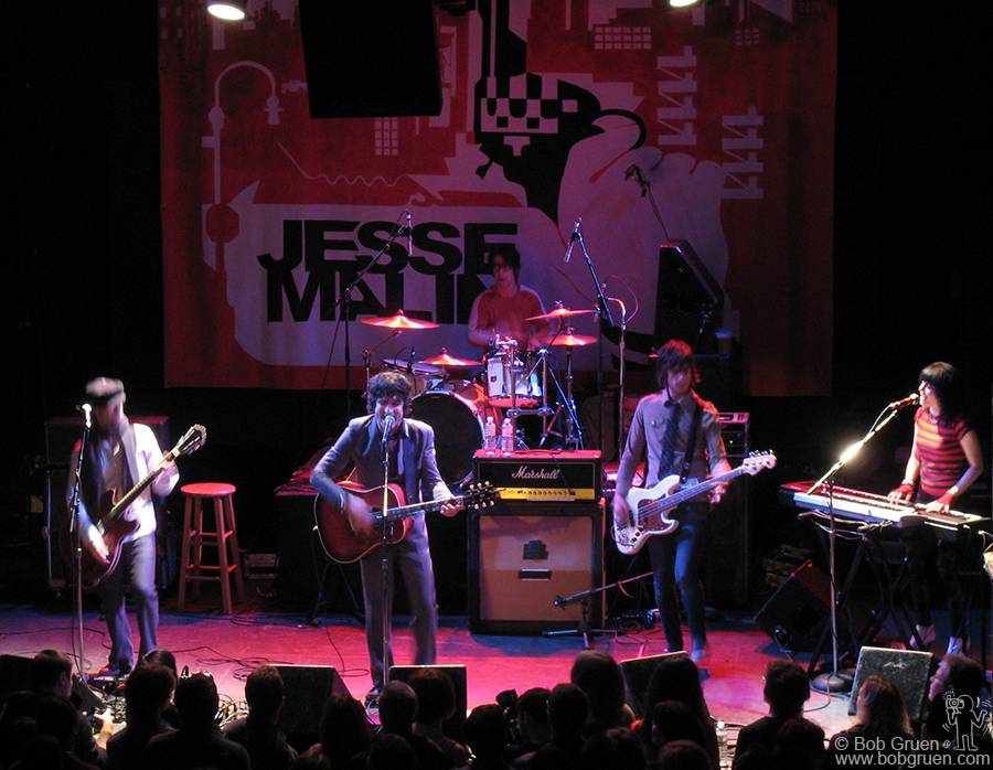 March 19 - NYC - Jesse Malin was at the Bowery Ballroom with a party for his new CD 'Glitter in the Gutter' which came out the next day.