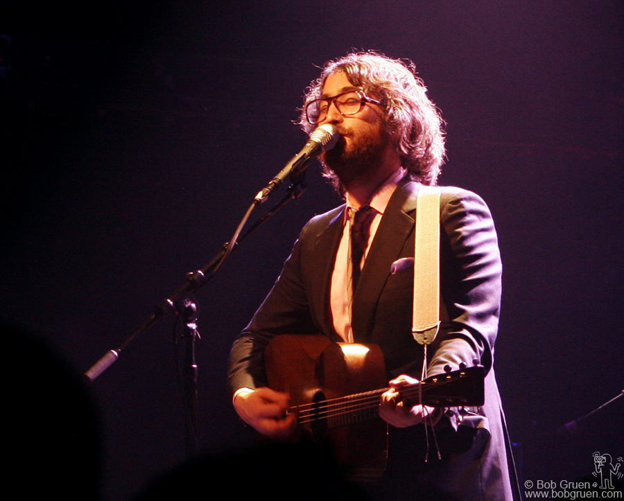 """April 13 - NYC - Sean Lennon's new album """"Friendly Fire"""" is doing well, and April 13th he appeared at the newly named Fillmore NYC @ Irving Plaza."""