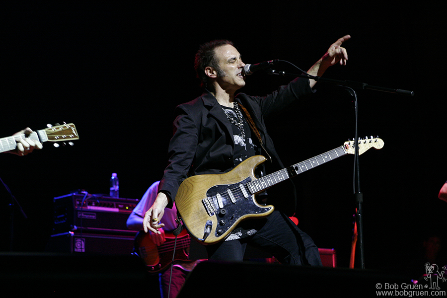 "Nils Lofgren did a lively set including Bruce Springsteen's ""Because the Night""."