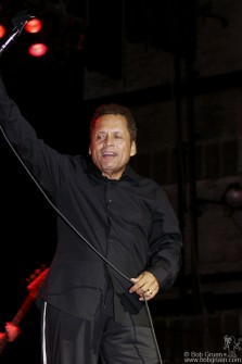 "Garland Jeffreys got the crowd going with his hit ""Wild in the Streets"" and an acapella version of ""My Little Red Book""."