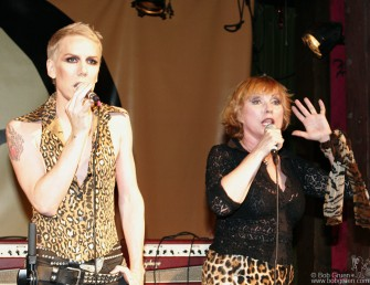 Miss Guy & Debbie Harry performed their new single.