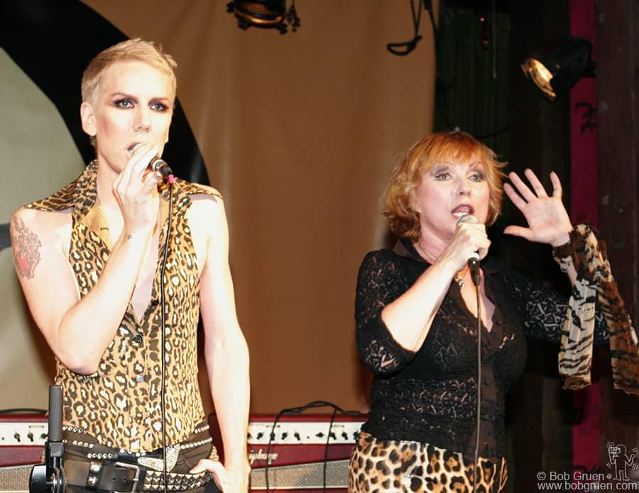 Miss Guy & Debbie Harry performed their new single.