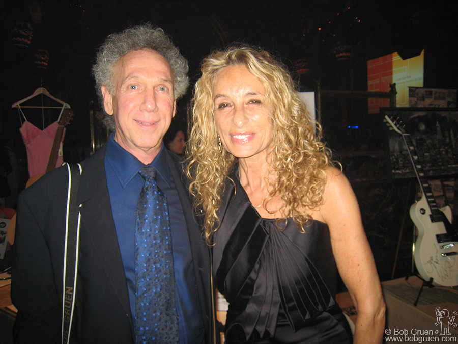 June 18 - NYC - Here I am with Ann Dexter Jones at the Caron Foundation Benefit. The evening honored Ann for her humanitarian work for the foundation. Sean Lennon performed at the event.